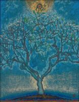 Синє дерево