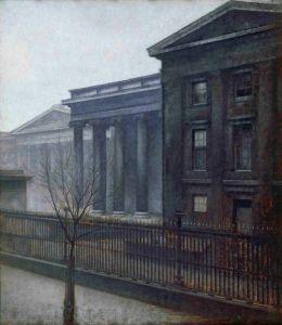 Хаммерсхей Вильгельм Британский музей зимой