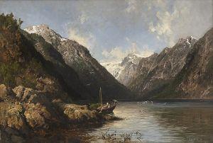 Норман Эйлерт Адельстен Vetlefjorden ved Balholmen