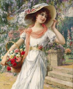 Вернон Эмиль Цветущий сад