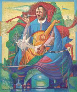 """Українське сучасне мистецтво Із серії """"Козак Мамай"""" - 12"""