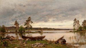 Мунстеръелм Ялмар Лодка на берегу