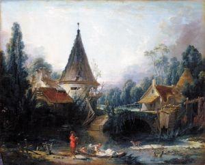 Рококо Пейзаж близ Бове