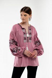 Женские вышиванки Вышиванка женская Доля пудра
