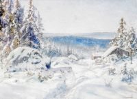 Зимний пейзаж №3