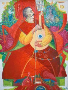 """Украинское современное искусство Из серии """"Казак Мамай"""" - 115"""
