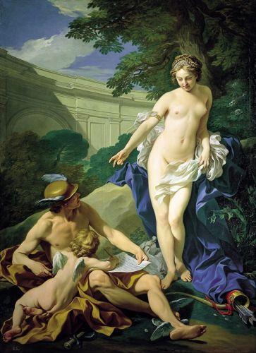 Венера, Меркурий и Амур