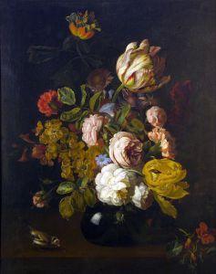 Штрановер Тобиас Натюрморт с цветами