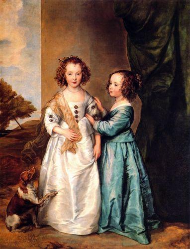 Портрет Филадельфии и Елизаветы Кэри