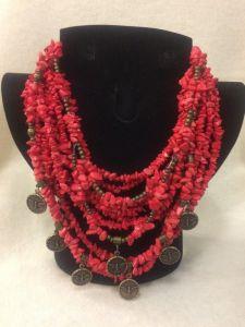 Beaded necklaces Зоря