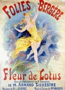 Шере Жюль Folies Bergeres Fleur de Lotus