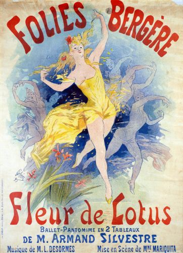 Folies Bergeres Fleur de Lotus