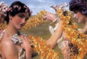 Альма-Тадема Лоуренс Когда цветы вернутся
