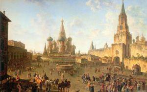 Алексеев Фёдор Красная площадь в Москве