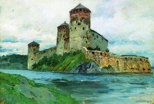 Левитан Исаак Крепость. Финляндия
