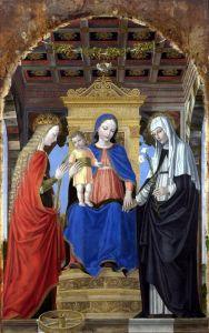 Бенсон Амброзиус Богородица с ребенком и святыми