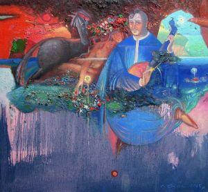 """Українське сучасне мистецтво Із серії """"Козак Мамай"""" - 99"""