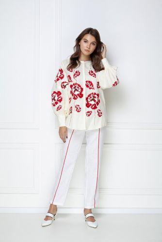 «Камелия» кремовая блуза - изображение 1
