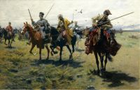 Пленный кавказский командир