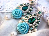 """Сережки з перлами """"Океан"""""""