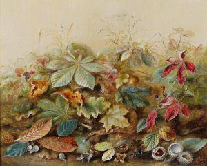 Дюрер Лукас Альберт Английское осенние листья