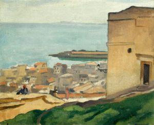 Марке Альбер Вид из крепости