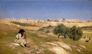 Брендекильде Ганс Андерсен Иерусалим с юго-востока