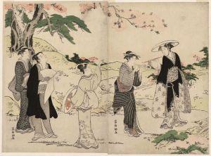 Восточная живопись Наслаждение цветом вишни
