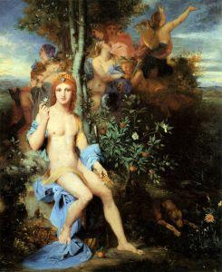 Символізм Аполлон і дев'ять муз