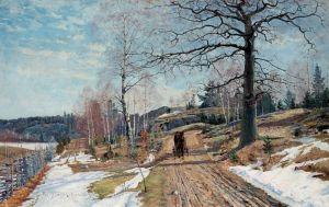 Йоханссон Карл Весенний пейзаж №3