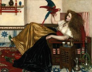 Прерафаэлитизм Дама из Тути-наме, или Книги попугая