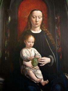 Герард Давид Полиптих - Богородиця з дитям