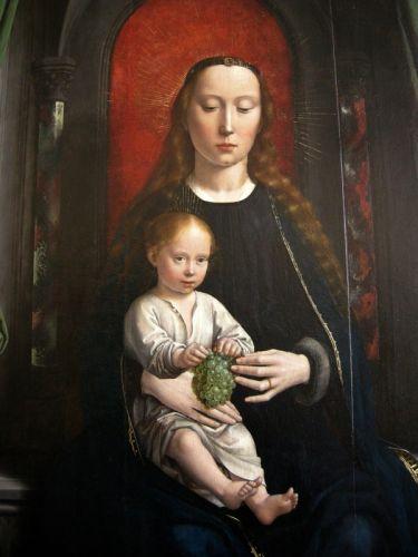 Полиптих - Богородица с младенцем