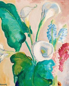 Експресіонізм Квітковий натюрморт №3