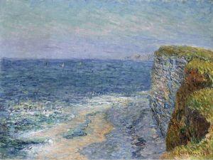 Морской пейзаж в Этрете