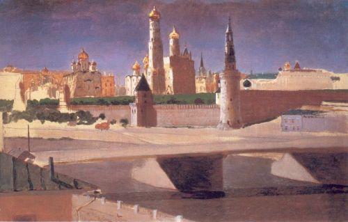 Москва. Вид на Кремль со стороны Замоскворечья