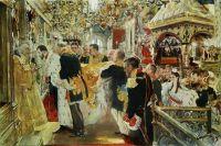 Миропомазание императора Николая Александровича