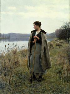 Найт Дэниел Риджуэй Пастушка с Рольбуаз