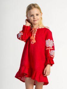 Вышиванки детские Платье для девочки Butterfly kids