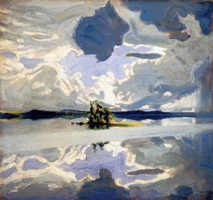 Галлен-Каллела Аксели Облака над озером