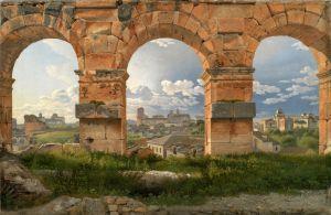 Іноземні класики Вид через три арки третього поверху Колізею