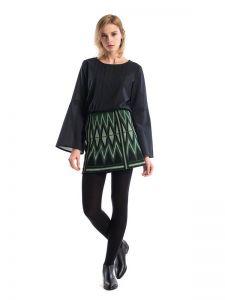 Юбки с вышивкой Вышитая юбка GLOW3