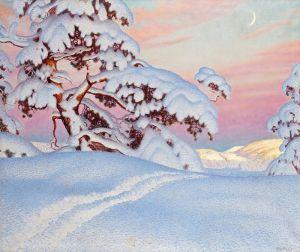 Фьюэстад Гюстав Солнце и тень на горах