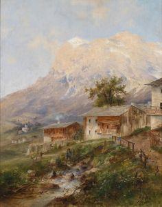 Барбарини Эмиль У Кортино в долине Импреза
