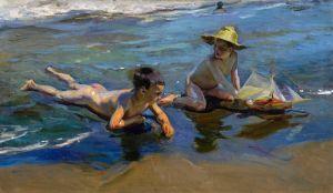 Соролья Хоакин Дети на пляже