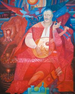 """Украинское современное искусство Из серии """"Казак Мамай"""" - 123"""