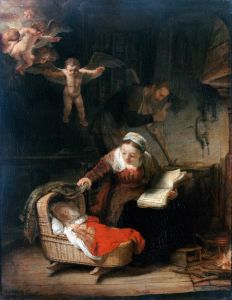 Рембрандт Харменс ван Рейн Святое семейство