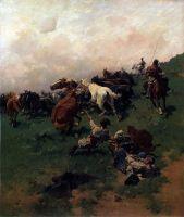 Коня на аркан
