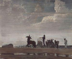 Серов Валентин Одиссей и Навзикая