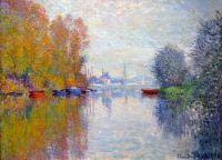 Осень на Сене в Аржантёе